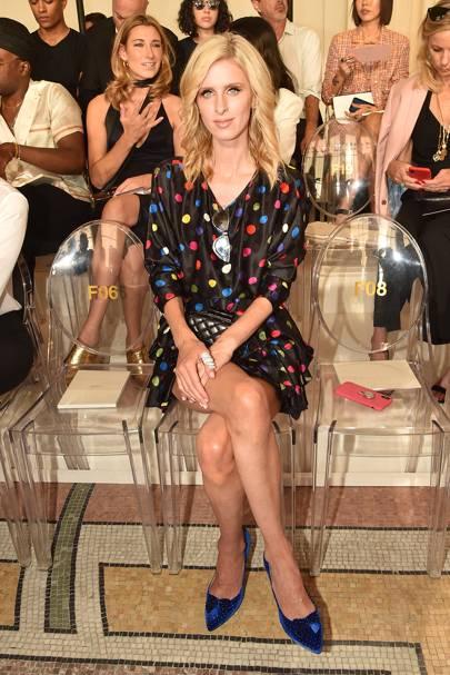 Nicky Hilton Rothschild attends Giorgio Armani Privé