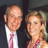 Vicomte de la Giraudiere and Stephanie Menaux de Nonancourt