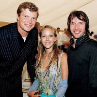 Jack Kidd, Camilla Boler and James Blunt