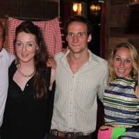 Eddie Tyrwhitt-Drake, Kate Cadzow, Pete Ogilvy-Wedderburn, Cassie Brough and Lucy Osbourne