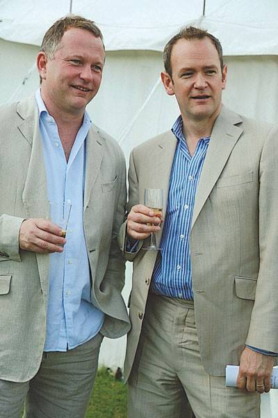 Nick Jones and Alexander Armstrong