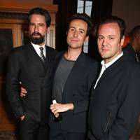 Jack Guinness, Nick Grimshaw and Nicholas Kirkwood