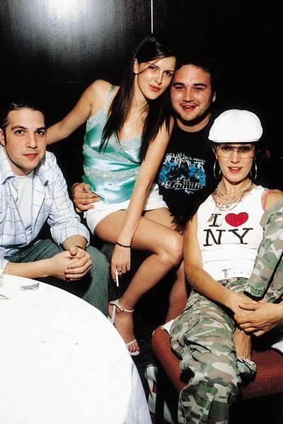 Khalid al Kadi, Chessy Wilson, Nicholas Kinnersley and Sophia Rogge