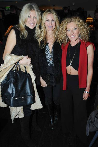 Diane Kkordas, Melissa Odabash and Kelly Hoppen