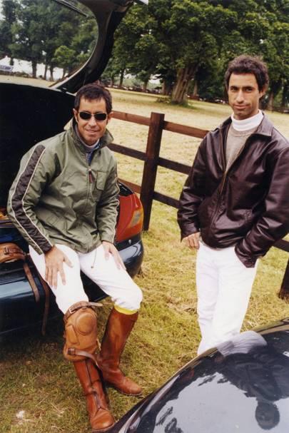 Horatio Heguy Jnr and Gonzalo Heguy