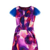 Silk dress, £1,495, by Burberry