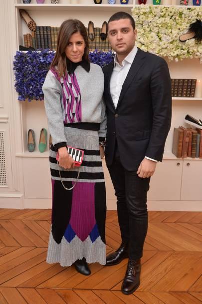 Elie Saab Jnr and Mariasole Cecchi