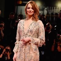 Emma Stone at The Favourite premiere