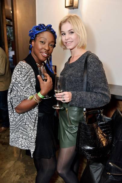 Ronke Adekoluejo and Alice Sanders
