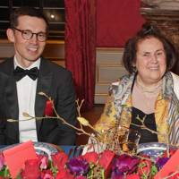 Erdem Moralioglu and Suzy Menkes