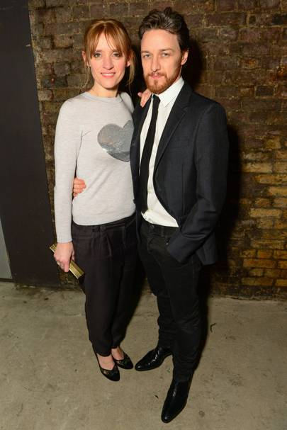 Anne Marie Duff and James McAvoy