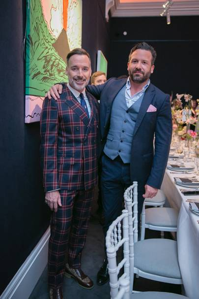 David Furnish and Frédéric Guyot du Repaire