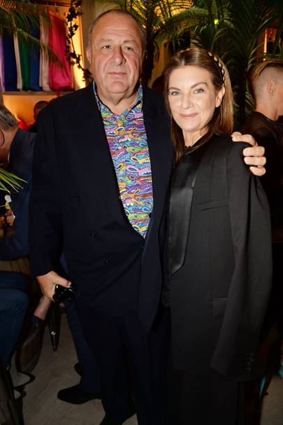 Natalie Massenet and Jean Pigozzi