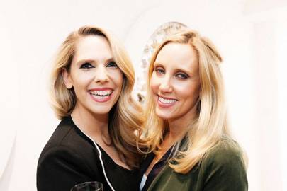 Julia Birkinshaw and Charlotte Miller