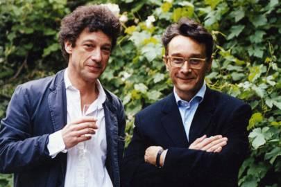 Count Adam Zamoyski and Tomasz Starzewski