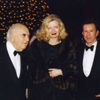 Lord Weidenfeld, Lady Weidenfeld and John Studzinski