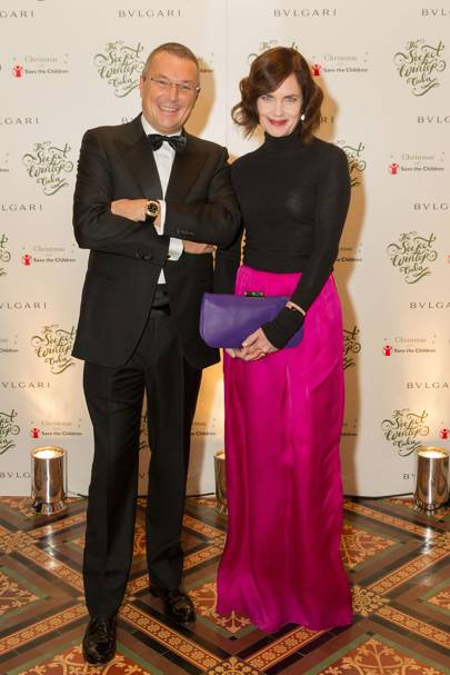 Elizabeth McGovern and Jean Christophe Babin