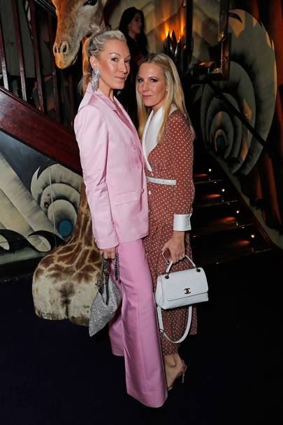 Olivia Buckingham and Alice Naylor-Leyland