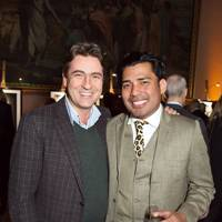 Claude Ashmore and Dr Luis Ureña