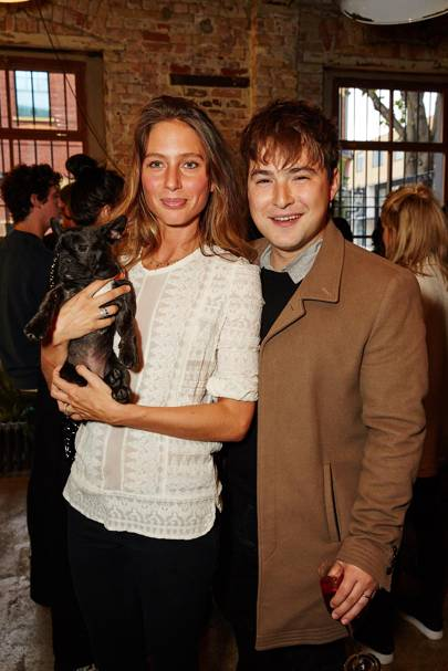 Jemima Jones and Sebastian Bailey