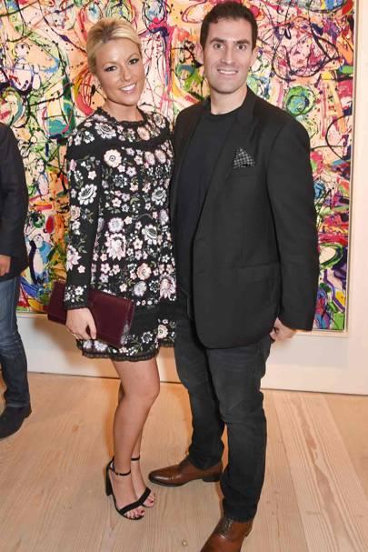 Natalie Rushdie and Zafar Rushdie
