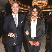 Dr Mario Luca Russo and Shabnam Russo