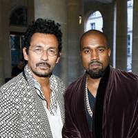 Haider Ackermann and Kanye West