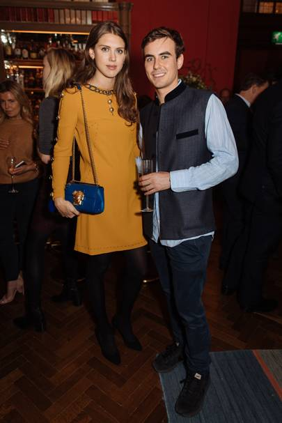 Sabrina Percy and Max Dodd-Noble