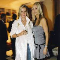 Amanda Wakeley and Heather Bird