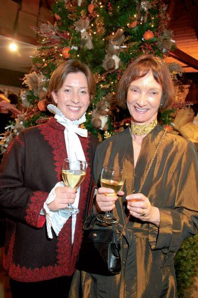 Lady Louise Burrell and Iona, Duchess of Argyll