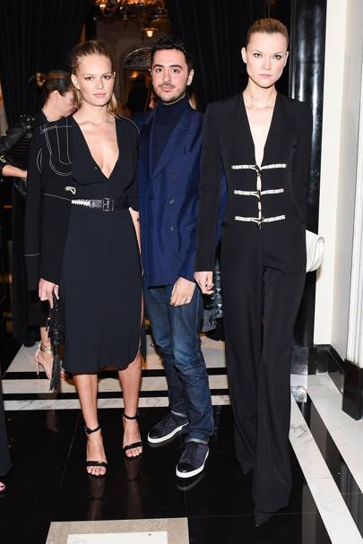 Kasia Struss, Ryan Korban and Anna Ewers