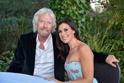 Sir Richard Branson and Marion Bartoli