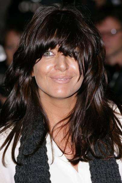 Claudia Winkleman S Fringe Hair Style Tatler Hair Guide Tatler