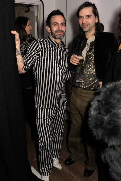 Marc Jacobs and Alister Mackie