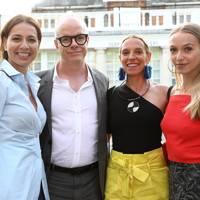 Yana Peel, Hans Ulrich Obrist, Tiphaine de Lussy and Agathe Chapman