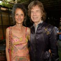 Tracy Worcester and Sir Mick Jagger