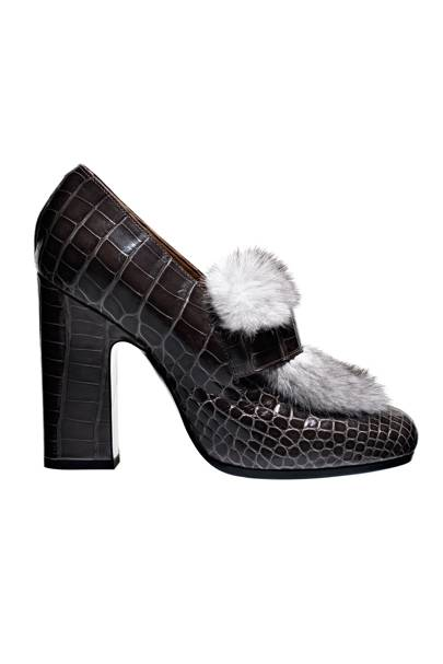 Alligator shoes, £4,640, By Hermes