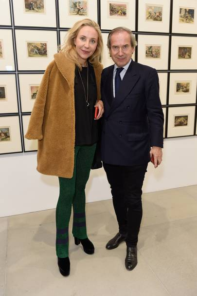 Michaela Neumeister de Pury and Simon de Pury