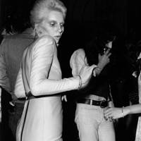 Angie Bowie and Bianca Jagger