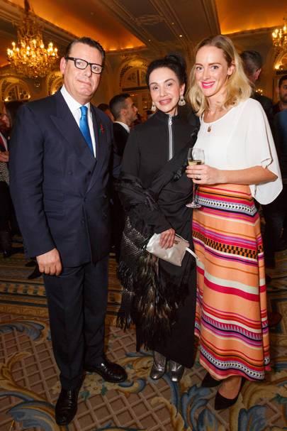 Jeremy Wayne, Martha Ortiz and Laura Tovell