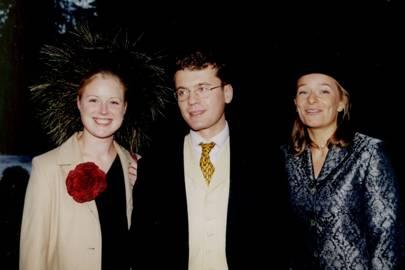 Annabel Foley, Christian Flackett and Amanda Morrison