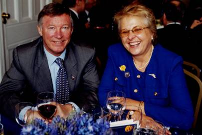 Sir Alex Ferguson and Jenny Pitman