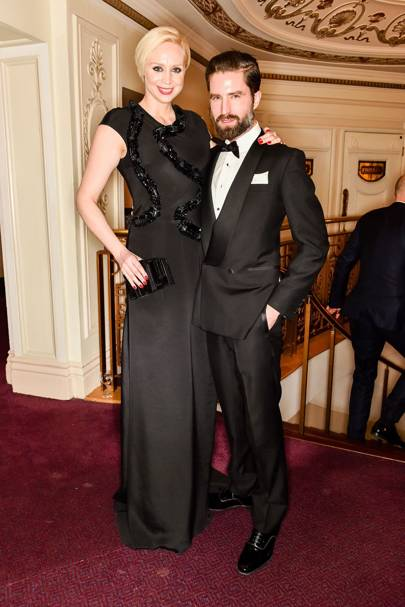 Gwendoline Christie and Jack Guinness