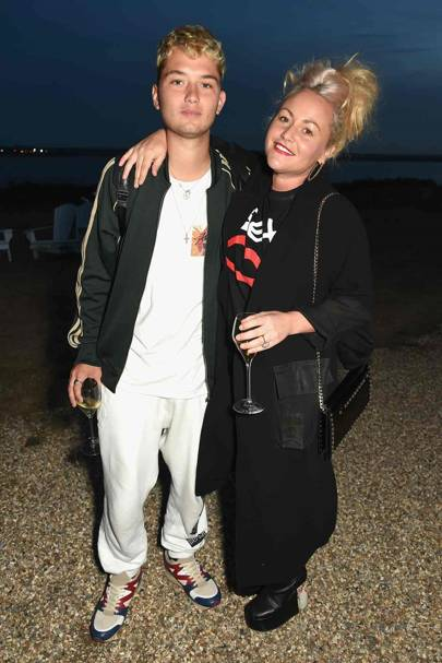 Rafferty Law and Jaime Winstone