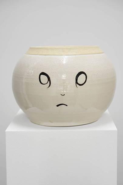 Judith Hopf, Exhausted Vase 24 (2017)