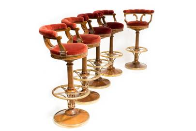 Stools from the Ritz Club