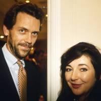 Hugh Laurie and Kate Bush