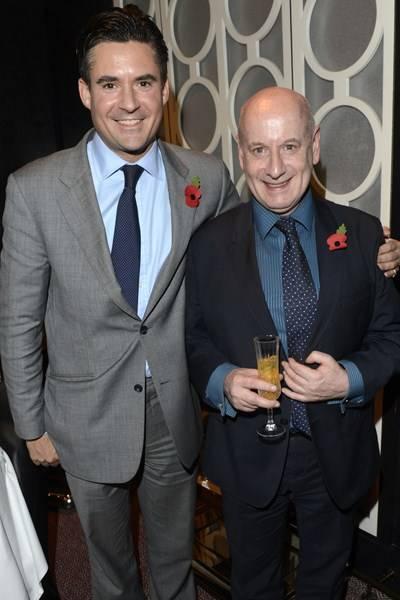 Ed Taylor and Colin Dunn