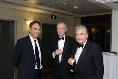 Anthony Horowitz, James Daunt and Antony Beevor