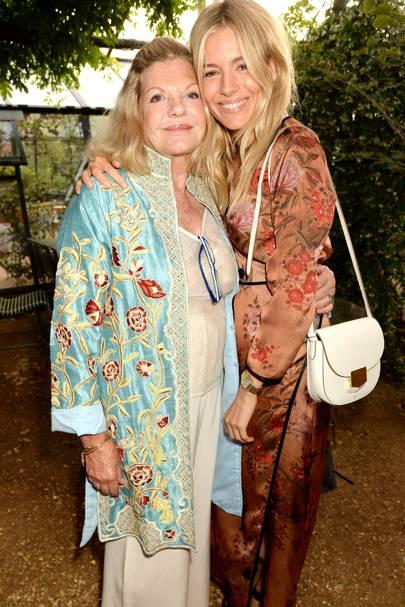Jo Miller and Sienna Miller